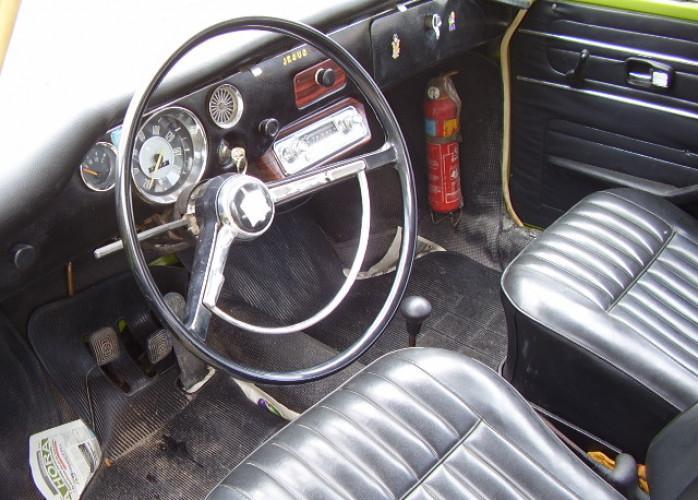 Vw - volkswagen variant 1 1974 verde hipie (raridade)
