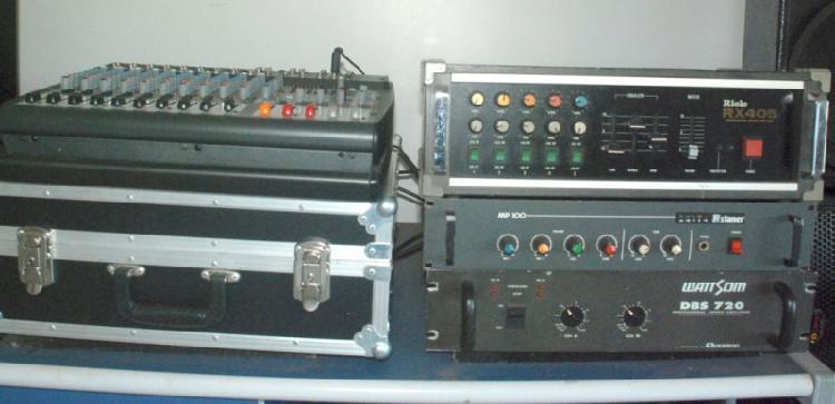 Vendo amplificadores e caixas de som