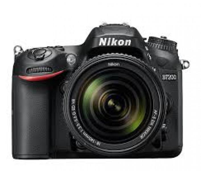 Vendo câmera nikon dslr 7200 + lente 35mm 1.8