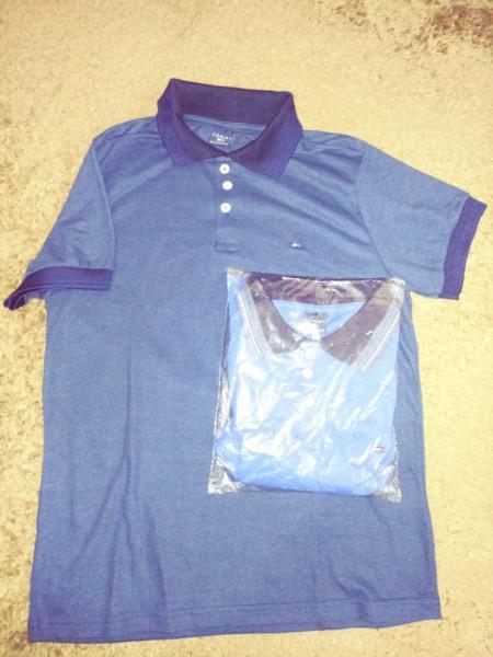 Vendo camisetas polo, bordadas e estampadas