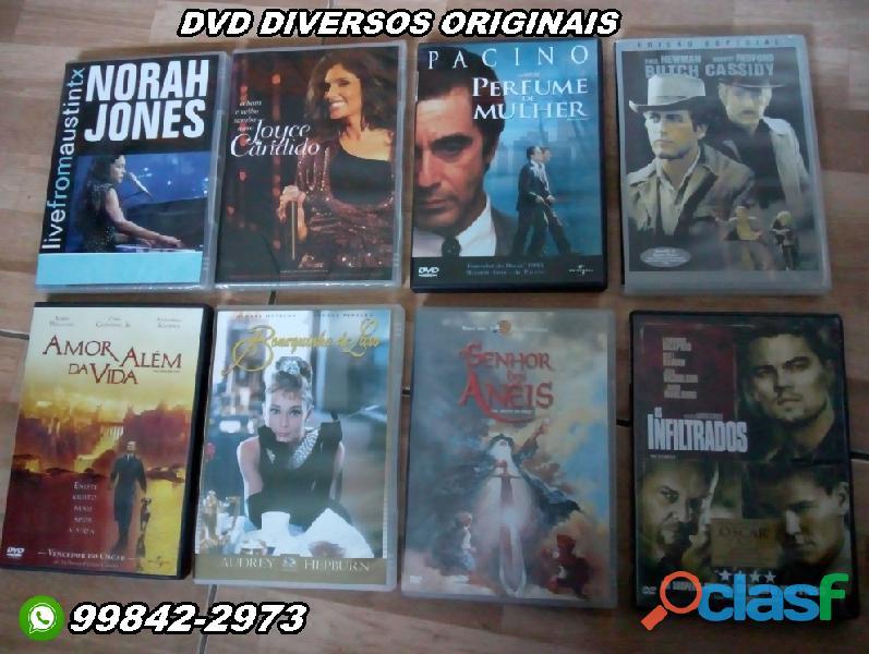 Filmes em DVD diversos
