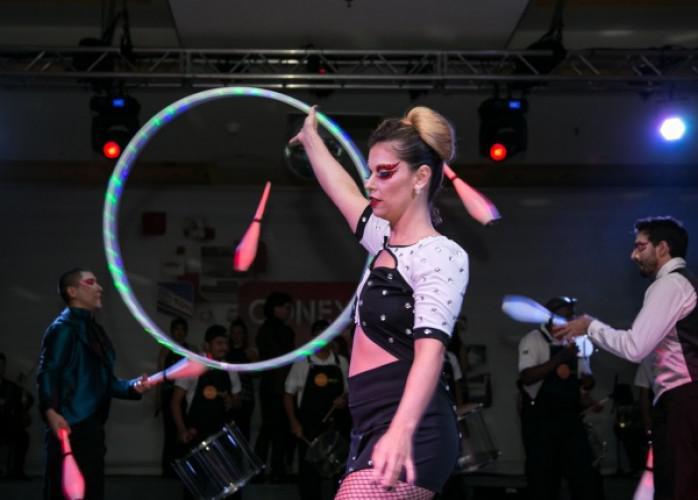 Intervenções artisticas inovação eventos empresas são
