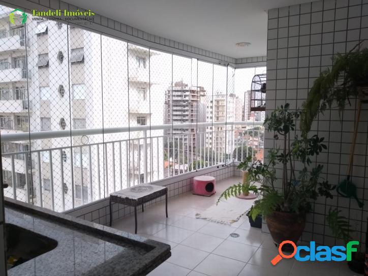 Apartamento alto padrão, 3 dormitórios, centro santo andré