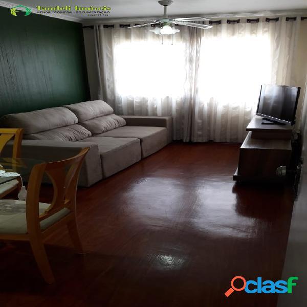 Apartamento com condomínio, 2 dormitórios - Jd. Santo André 3