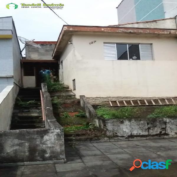 Casa antiga em terreno 6,5m x 29,5m - vila guaraciaba