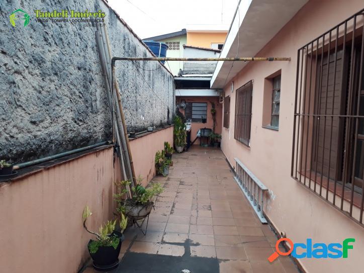 Casa assobradada, 3 dormitórios - vila guaraciaba
