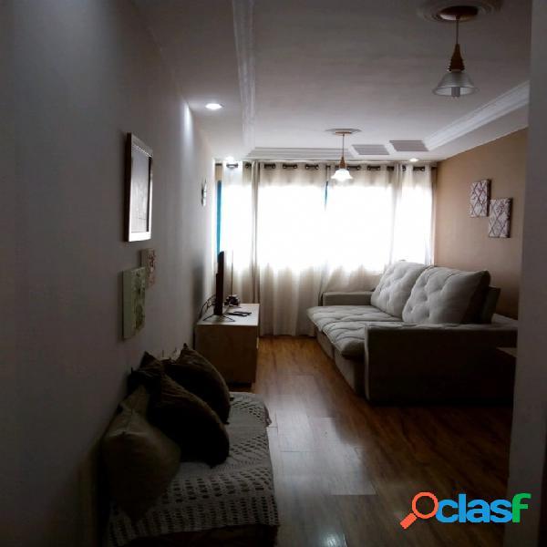Apartamento com condomínio, 3 dormitórios - vila luzita