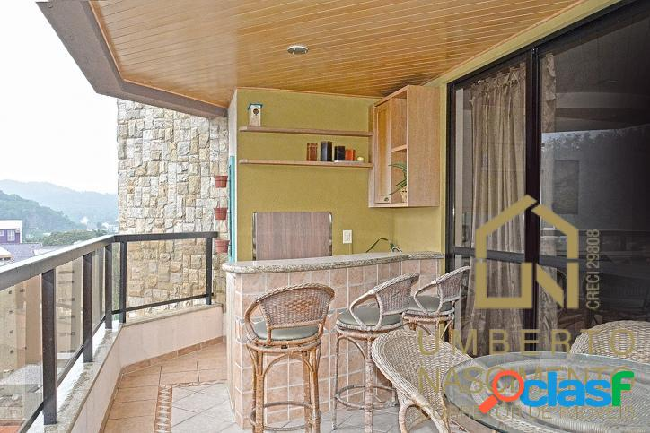 Apartamento com 4 quartos à venda no bairro ponta aguda, em blumenau sc.