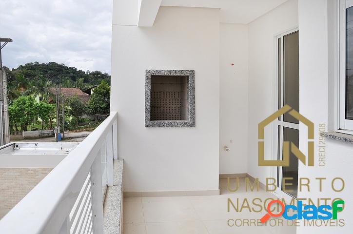 Apartamento dois dormitórios, bairro fortaleza blumenau sc