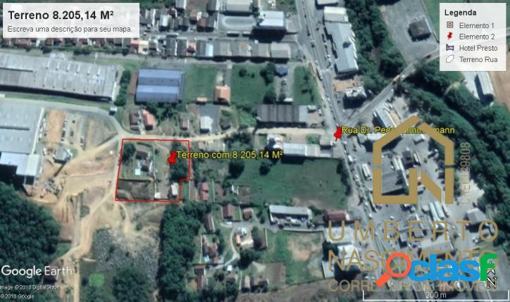 Terreno área industrial bairro itoupavazinha blumenau sc