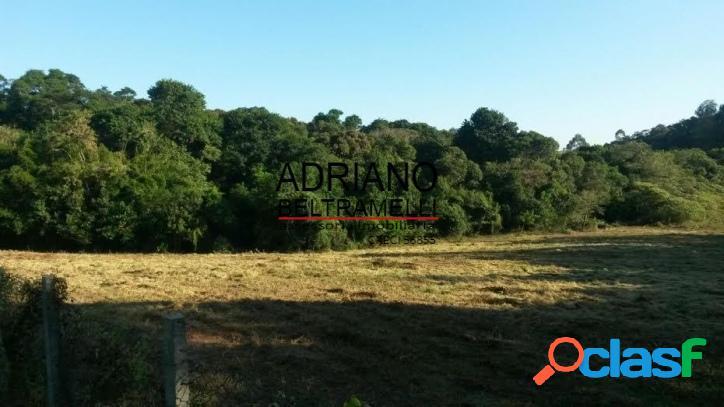 Terreno plano - condomínio rural - sousas
