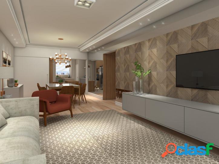 Apartamento com 3 suítes à venda no jardim américa, 163 m² por r$2.490.000,00.