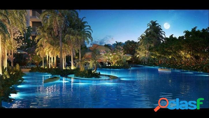 Apto acqua park home resort em alphaville