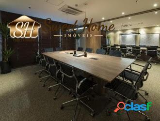 Sala comercial 168,00 m² pronta para uso -alphaville