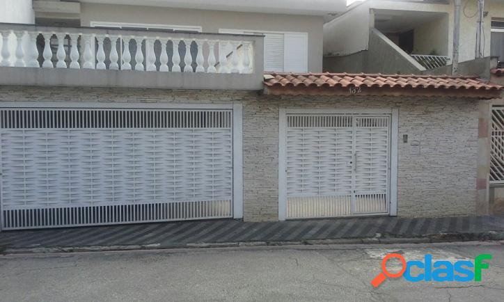 Casa assobradada na freguesia do ó - 3 dorms (1 suíte)
