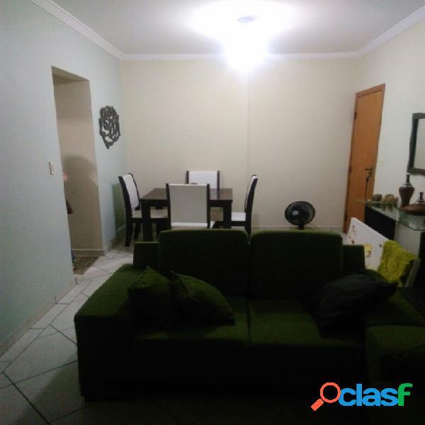 Apartamento na Vila Guilhermina/Praia Grande SP, 1 dorm/1 vg 2