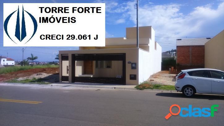 Bagança Paulista - Casa nova - térrea - 3 Quartos - 1 Suite