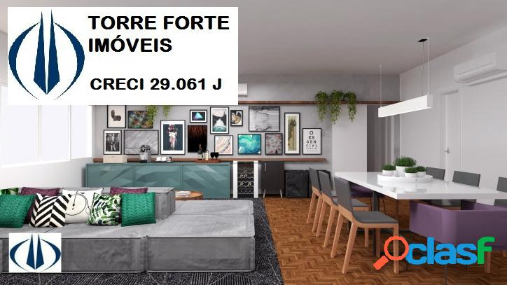 Higienópolis | 180 m² | 3 Dorms | 1 Suíte | 1 Vaga