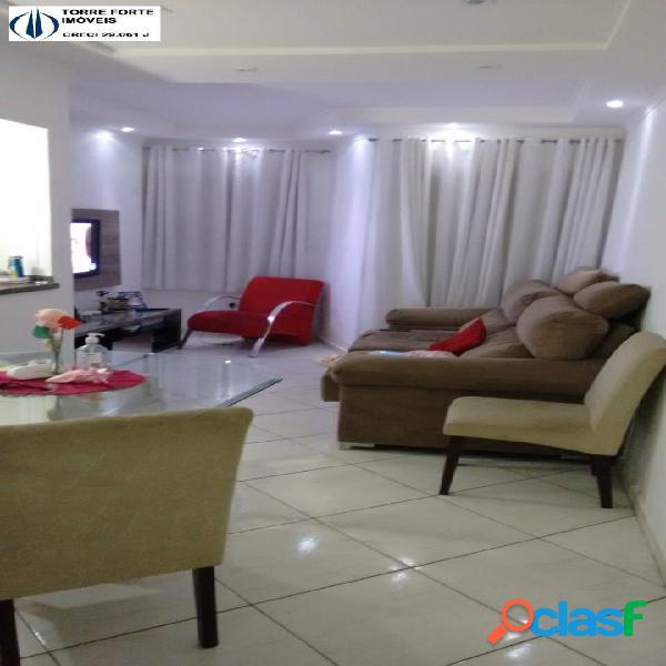 Lindo apartamento cobertura com 3 dormitórios no jd milena