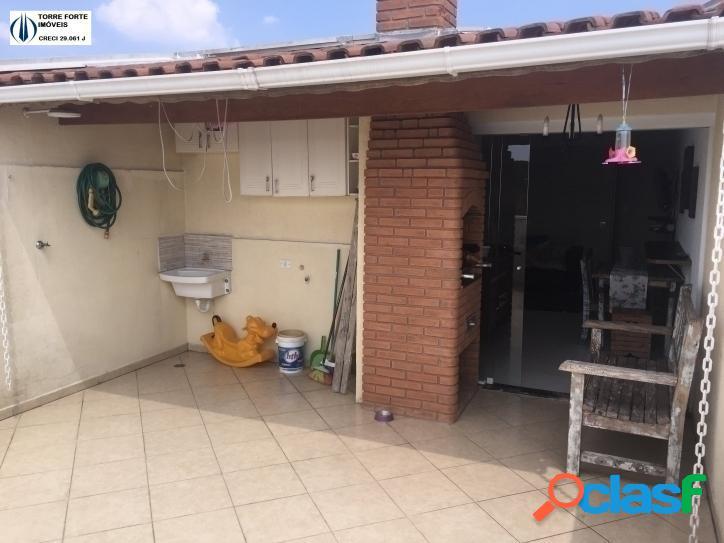 Lindo apartamento (cobertura) com 2 dormitórios no parque capuava. 2 vagas