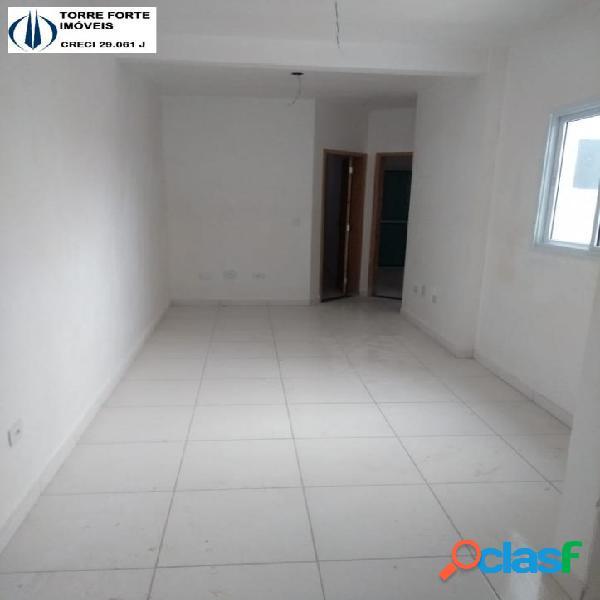 Lindo apartamento (cobertura) novo com 2 dormitórios. 1 vaga de garagem
