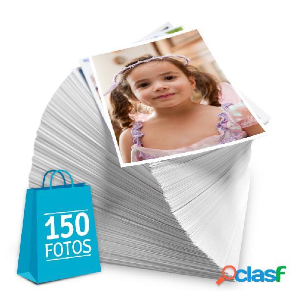 Revelação de fotos - Pacote de 150 fotos no tamanho 10x15 cm