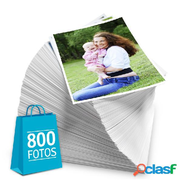 Revelação de fotos - Pacote de 800 fotos no tamanho 10x15 cm