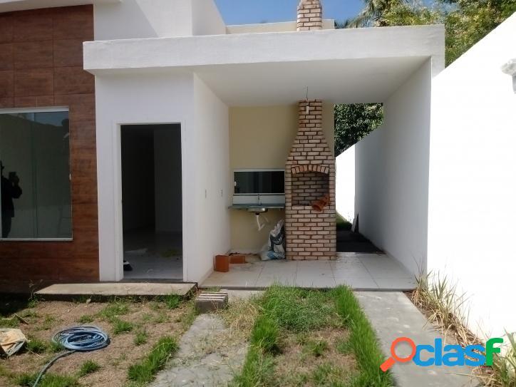 Linda casa NOVA na Barra de Coqueiros - SE só R$145.000,00 2