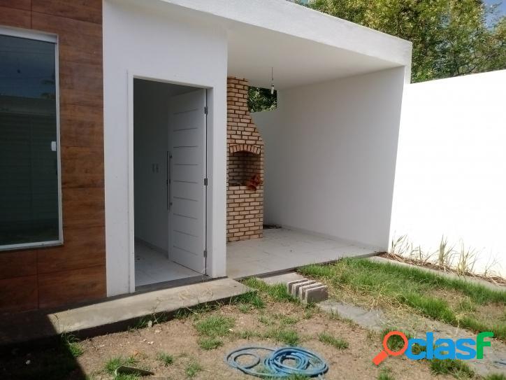 Linda casa NOVA na Barra de Coqueiros - SE só R$145.000,00 3