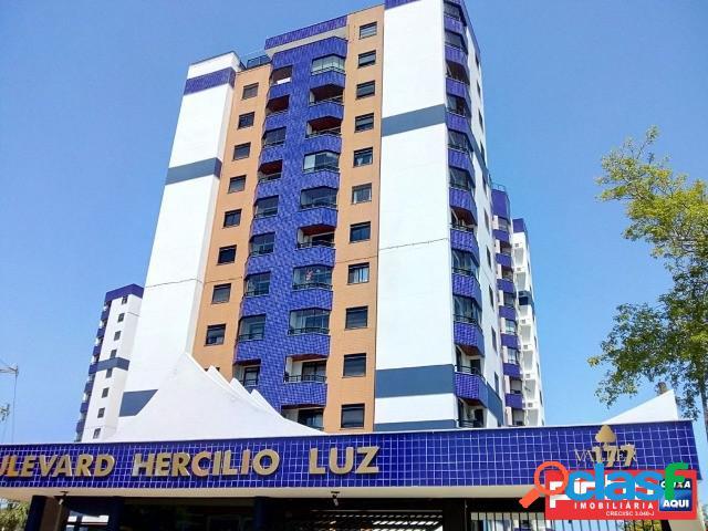 Apartamento 03 dormitórios, residencial boulevard hercílio luz, vende, bairro estreito, florianópolis, sc