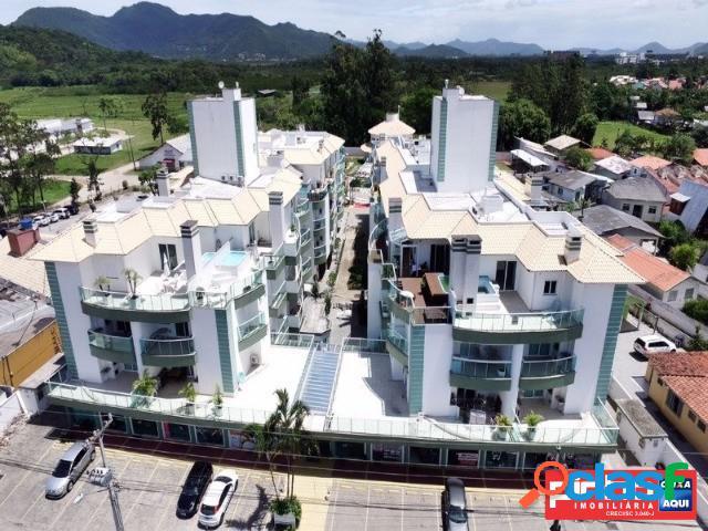 Apartamento 03 dormitórios (suíte), venda direta caixa, bairro abraão, cachoeira do bom jesus, sc