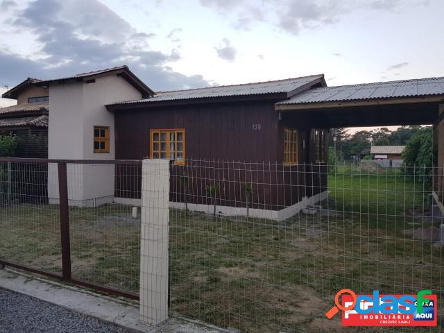 Casa nova 02 dormitórios, venda, bairro campo d'una, garopaba, sc