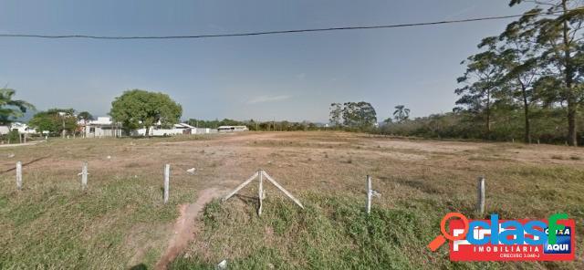 Terreno com área de 10.721,70m², venda direta caixa, bairro barra do aririú, palhoça, sc