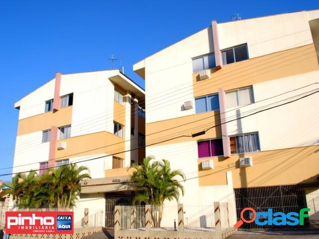 Apartamento de 02 dormitórios para venda, bairro nossa senhora do rosário, são josé/sc