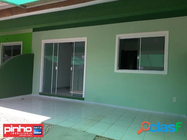 Casa geminada de 02 dormitórios, para venda, bairro centro, são joão batista, sc