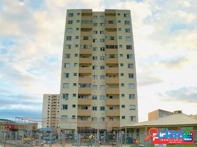 Apartamento 02 dormitórios, residencial ilhas do norte, bairro areias, são josé, sc