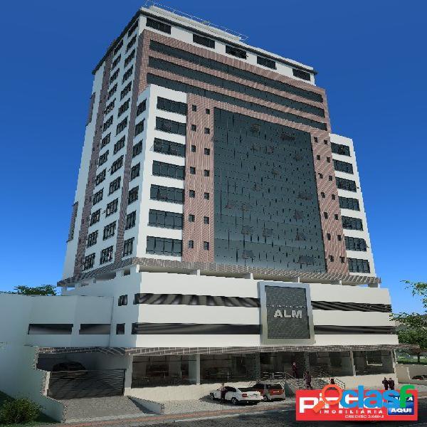 Andar corporativo (11 salas comerciais) no centro empresarial alm, bairro pagani, palhoça, sc