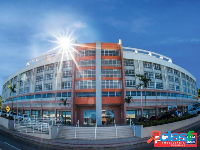 Sala comercial nova no vitória center, bairro forquilhinhas, são josé, sc