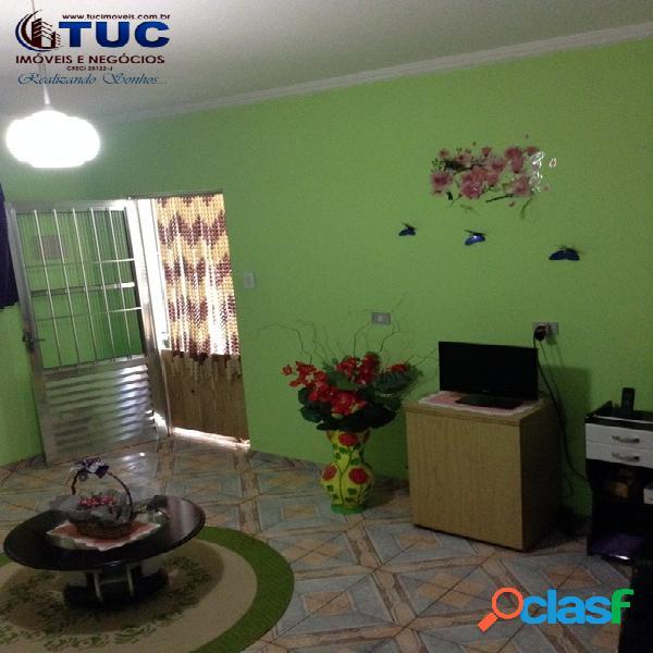 Casa térrea com 02 vagas (jd laura s.b.c)