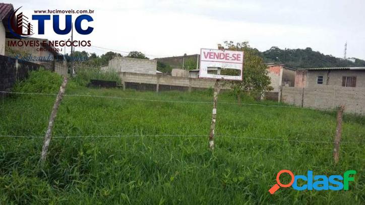 Terreno no litoral para investimento ou moradia (peruíbe)
