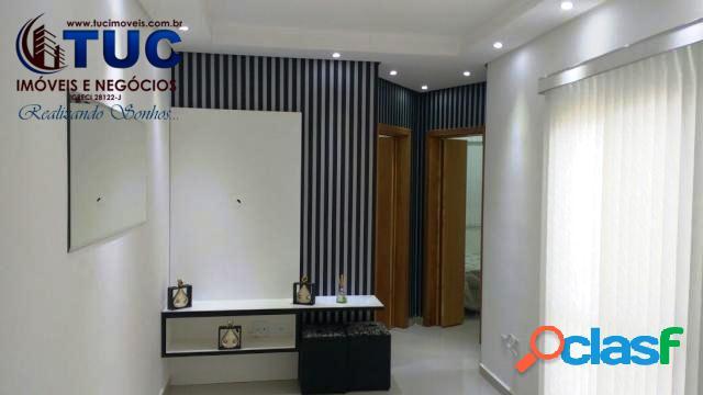 Apto s/ condomínio 02 dorms, móveis planejados,decorado!