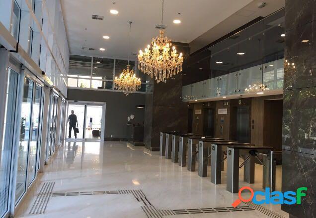 Sala comercial para locação no alpha green business tower