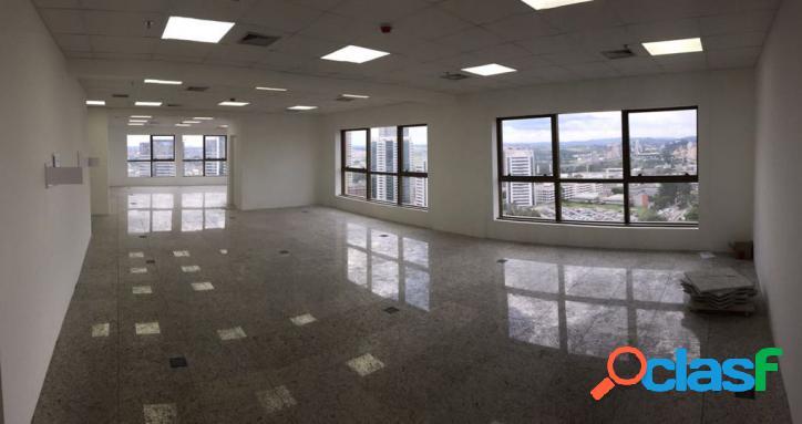 Locação de sala comercial ed. new worker tower alphaville