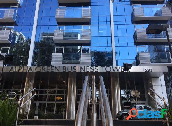 Sala comercial para locação alpha green business tower