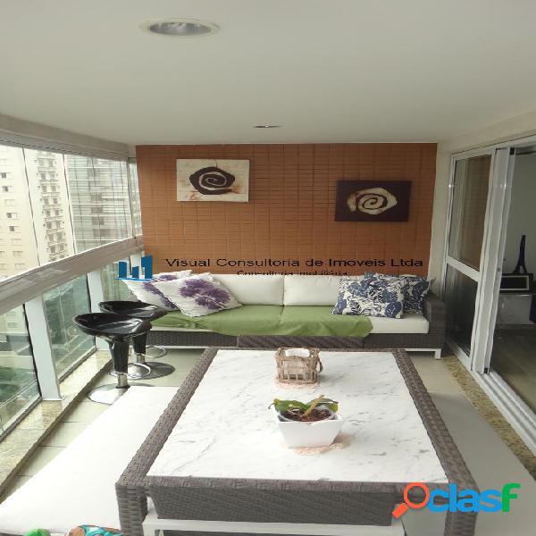 Itaim alto padrã£o mobiliado 127 m2 3 suites 3 vagas