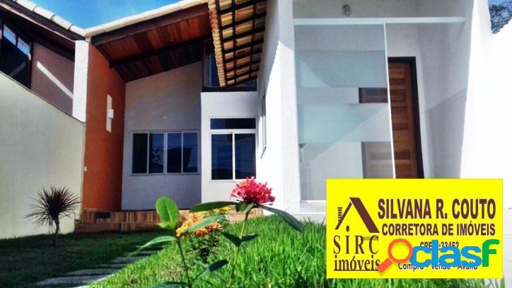 Casa 3 quartos,perto praia itaipuaçu r$ 270 mil