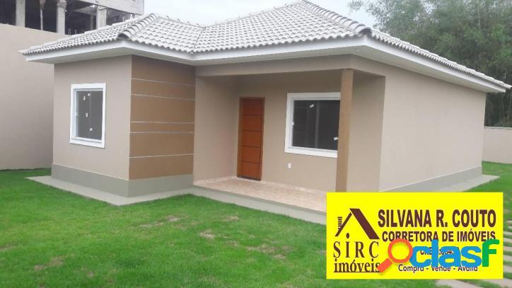 Casa 3 quartos (suíte) itaipuaçu r$ 280 mil