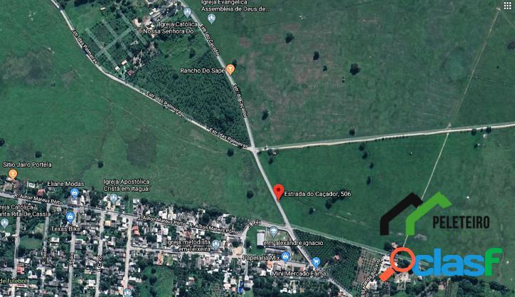 Área à venda na estrada do caçador 5.854 m²