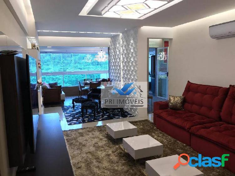 Apartamento à venda, 124 m² por r$ 970.000,00 - canto do forte - praia grande/sp
