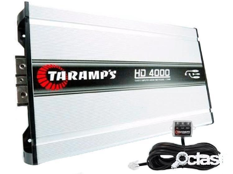 Amplificador taramps hd 4000 4000w rms